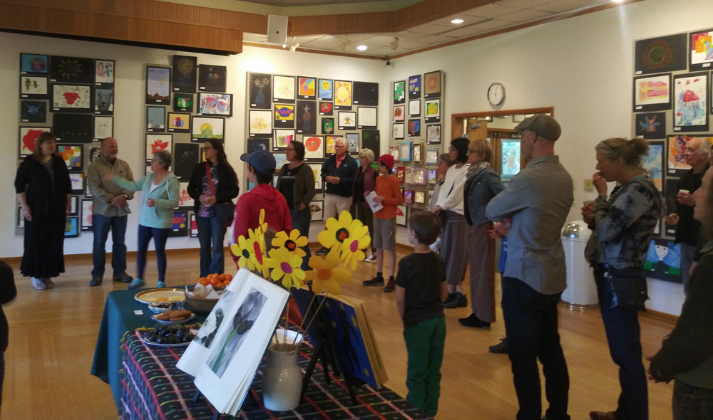 In the Gallery: The Community Art Show – October 4th